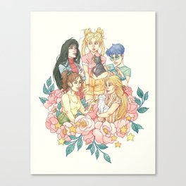 Sailor Sisters Canvas Print