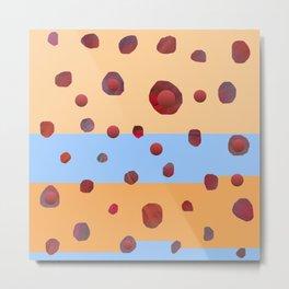 Red meteorites Metal Print