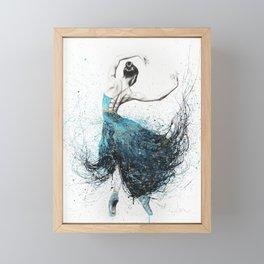 Gold River Dance Framed Mini Art Print