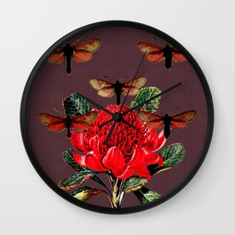 And I will Sing A Lullaby Wall Clock