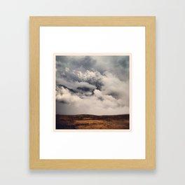 Heaven or Earth? Framed Art Print