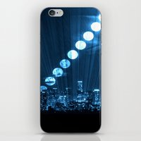 moonrise iPhone & iPod Skins featuring moonrise  by yahtz designs