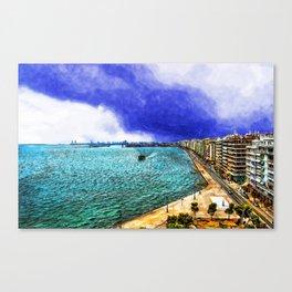 Thessaloniki 3 Canvas Print