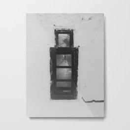 Strange Window Metal Print