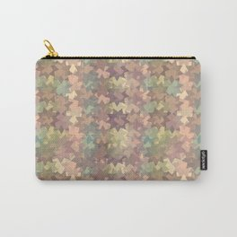 Geometric in sephia Carry-All Pouch