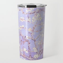 Vincent Van Gogh Almond Blossoms  Lavender Travel Mug