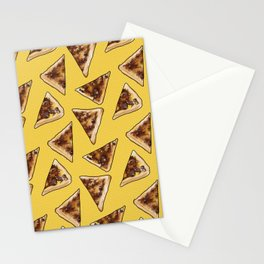 Vegemite on Toast Dreams in yellow Stationery Cards