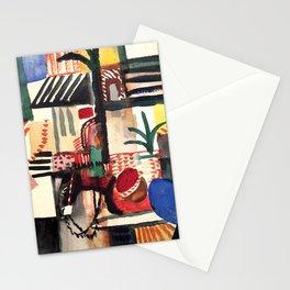 "August Macke ""Mann mit Esel (Man with donkey)"" Stationery Cards"