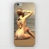 erotic iPhone & iPod Skins featuring erotic tattoo by flamenco72