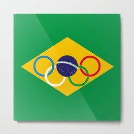 Brazil Olympics Metal Print