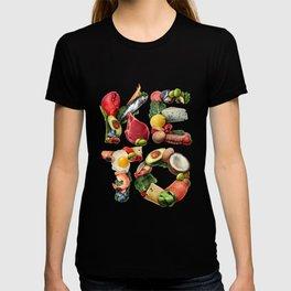 Keto Ketogenic Diet Food T-shirt