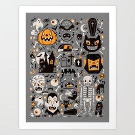 Halloween Spooktacular Art Print