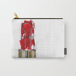 Lipstick Rouge Carry-All Pouch