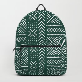Line Mud Cloth // Brunswick Green Backpack