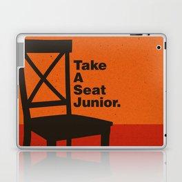 Take A Seat Laptop & iPad Skin