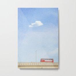Lonely Skies - London Metal Print