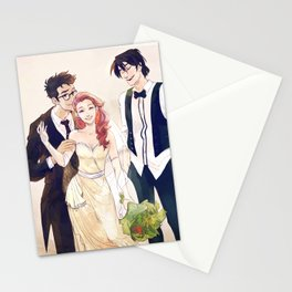 James and Lily's wedding Stationery Cards