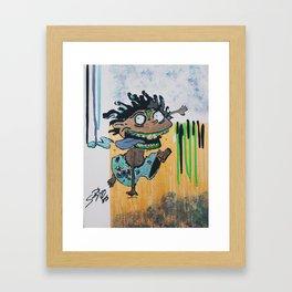  Zombie Donnie  Framed Art Print