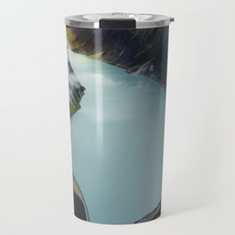 Hidden lake in Austrian Alps Travel Mug