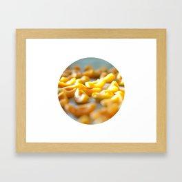 Apricot slices Framed Art Print