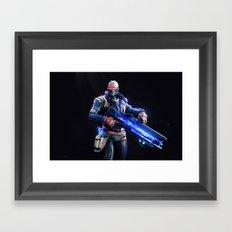 Soldier 76 v2 Framed Art Print
