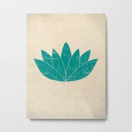 Lotus Art Print Metal Print