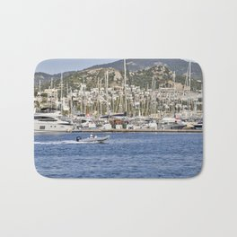 Bodrum Marina Turkey Bath Mat