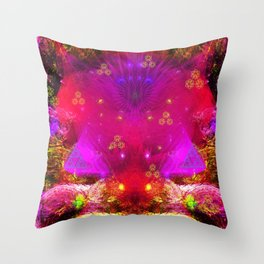 Passion Lily of Titan Throw Pillow