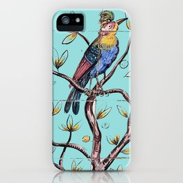bird of paradise_limpet shell iPhone Case