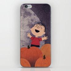The Great Pumpkin iPhone & iPod Skin