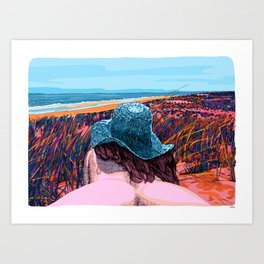 Ballad Of Lucy Jordan Art Print