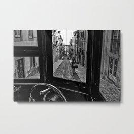 Leica Tram Metal Print