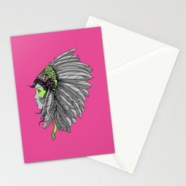 Warrior 3 Stationery Cards