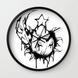 Sun & Moon & Stars Wall Clock