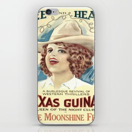 Vintage poster - The Moonshine Feud iPhone Skin