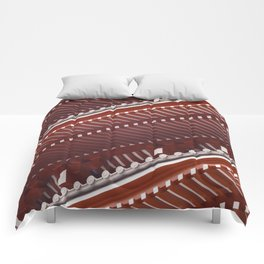 Pagoda roof pattern Comforters
