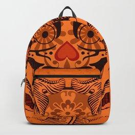 Halloween Crazy Heart Backpack