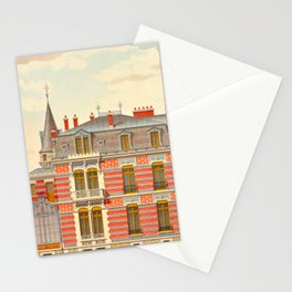 Brick constructions; ordinary brick from a decorative point of view - J. Lacroux and C. Détain - 187 Stationery Cards