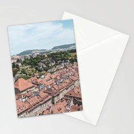 Old City Bern, Switzerland #2 Stationery Cards