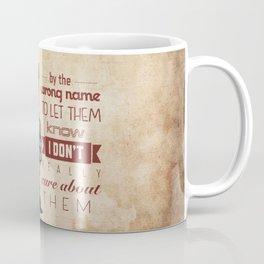Ron Swanson 6 Coffee Mug