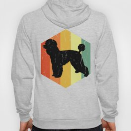 Distressed Poodle Pudl Hexagon Hoody