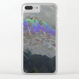 Mt Rainier Dreamscape Clear iPhone Case