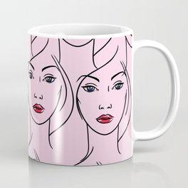 Lineart Fashionista Coffee Mug