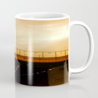 road Mugs featuring road by gasponce