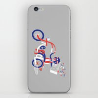 freedom iPhone & iPod Skins featuring Freedom by Wharton