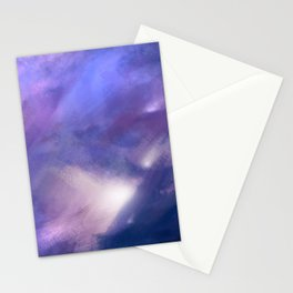 Innocence (Remembering life before the hurt) | Abstract Painting Stationery Cards