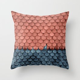 SHELTER / Little Boy Blue / Blooming Dahlia Throw Pillow