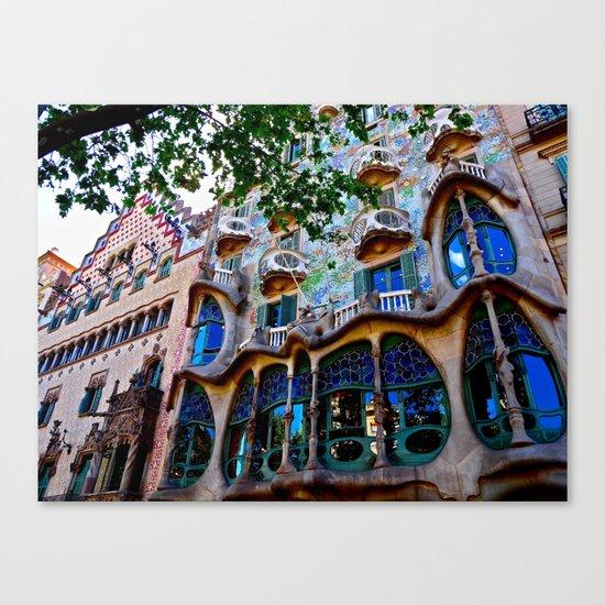 Casa Batllo: Barcelona, Spain Canvas Print