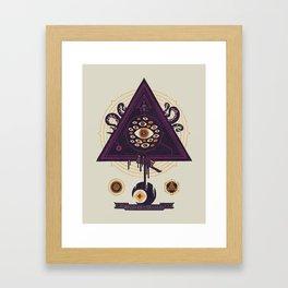 All Seeing Framed Art Print