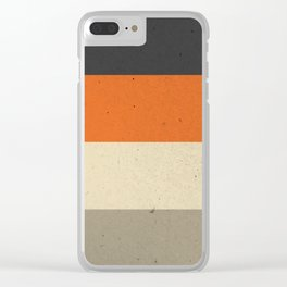 COLOR PATTERN III - TEXTURE Clear iPhone Case